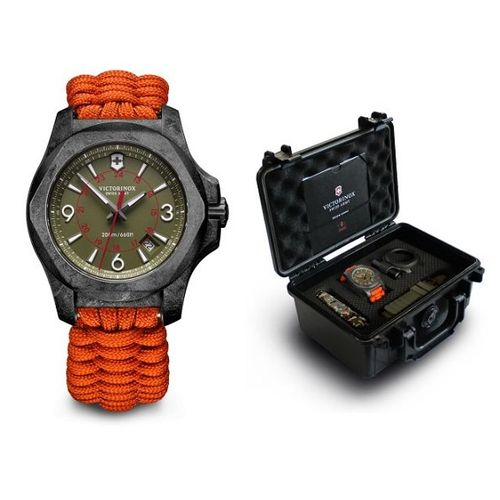 Relogio-Victorinox-Swiss-Army-INOX-Carbon-Paracord