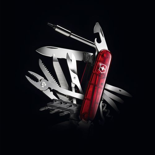 Canivete-CyberTool-L-Vermelho-Translucido
