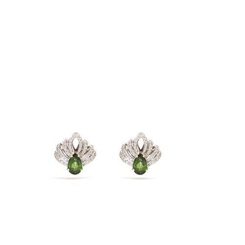 Turmalina-Verde-e-Brilhantes